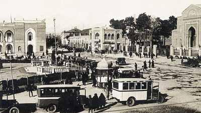 طهران في مطلع الثلاثينات