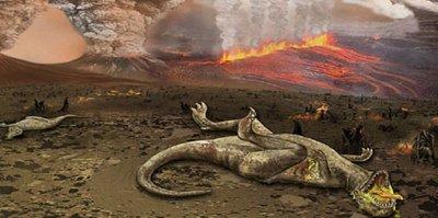 لغز انقراض الديناصورات