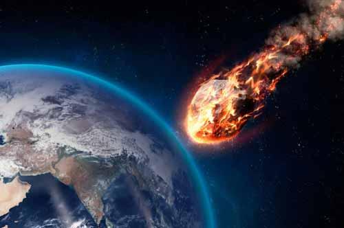 فناء العالم قد يحدث بسبب نيزك او كويكب يرتطم بالارض