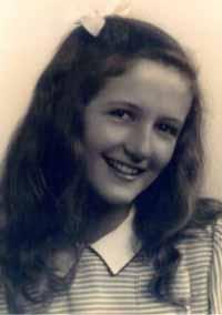 ديان فوسي في طفولتها
