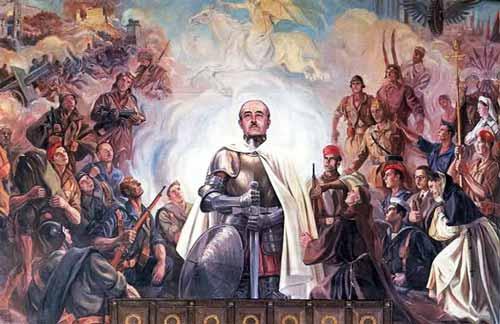 الجنرال الحاج عبدالسلام فرانكو ديكتاتور إسبانيا!