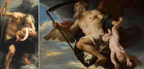 اساطير الاغريق .. مولد زيوس