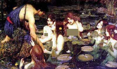 اساطير الاغريق .. الحوريات