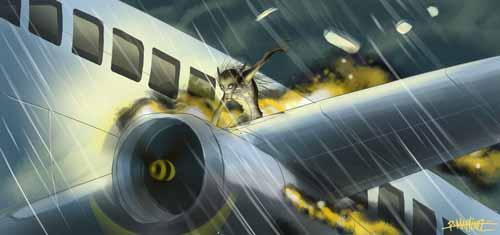 جريملنز : كائنات غامضة تنشر الرعب في السماء