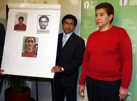 جوانا بارازا .. بعد القاء القبض عليها