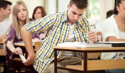 عقوبة الغش في الامتحان