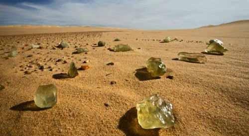 الغاز و عجائب من ليبيا