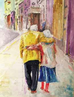 قصّة عشق بقي قائما بعد أكثر من نصف قرن  !!!