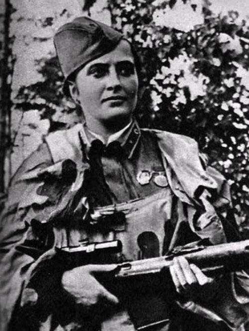 ماريا أوكتيا برسكايا - امرأة خاضت الحرب انتقاماً لزوجها
