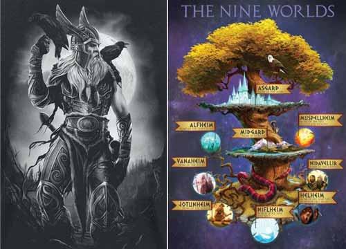 الأساطير النوردية: كيف تكون الكون؟