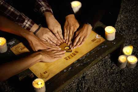 لعبة الجحيم:التاريخ الغريب والغامض للوح الويجا