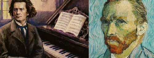 الموسيقار بيتهوفن .. والرسام فان غوخ