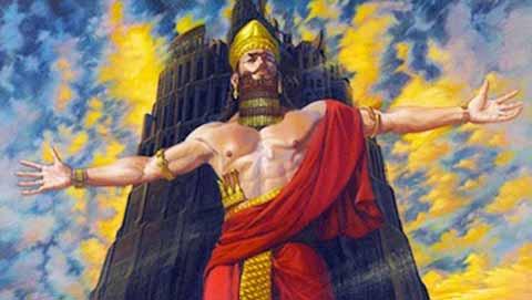 النمرود .. كان اقوى ملوك الأرض