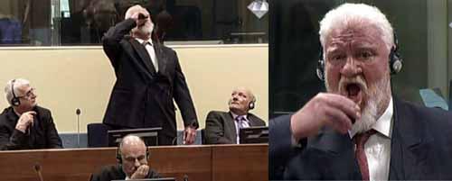 انتحار سلوبودان برالياك في قاعة المحكمة