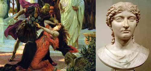 الملكة التي انجبت امبراطور روما المجنون .. نيرون