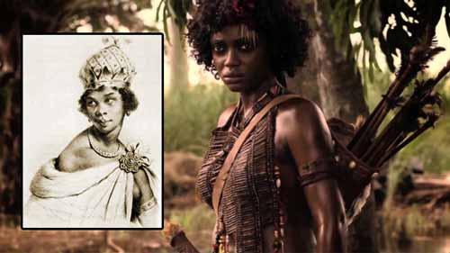 الملكة نزينجا .. محاربة شديدة البأس ..