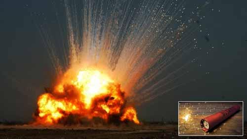 ديناميت انفجار