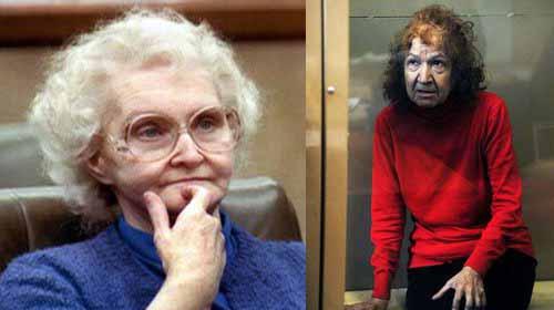 دورثي بونتي بالكنزة الزرقاء .. والجدة الروسية بالكنزة الحمراء