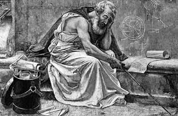 ارخميدس .. من اشهر علماء العصر القديم