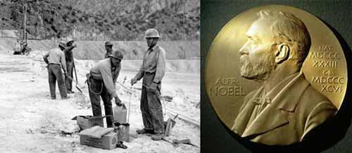 ثروة نوبل جاءت من اختراعه الذي استعمل في السلم والحرب
