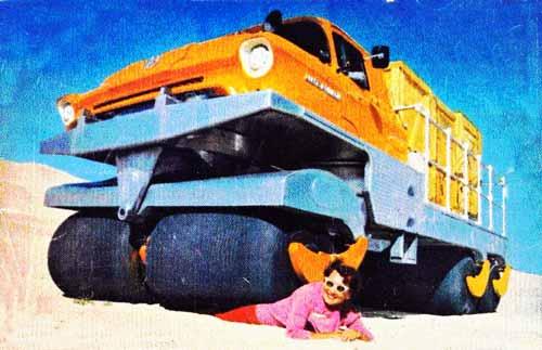 السيارة التي جعلت الإستلقاء تحت عجلاتها أمراً مسلياً