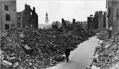 صورة من برلين بعد نهاية الحرب مباشرة