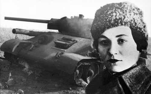 ماريا .. قائدة الدبابة الشجاعة