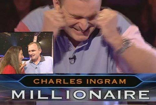 """""""تشارلز أنغرام"""" والفضيحة الشهيرة في من سيربح المليون !"""