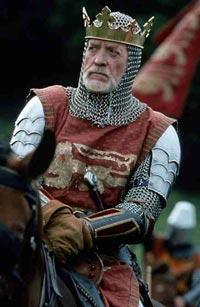 ادوارد الاول ملك انجلترا كما ظهر في الفلم